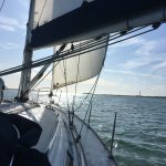 A sunny day on Southampton Water - Thunderbolt off on another adventure