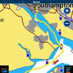 Lymington to Southampton with the milebuilding club